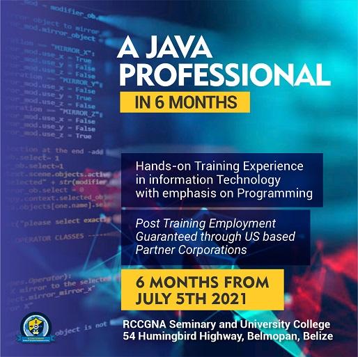 java information technology training Belize