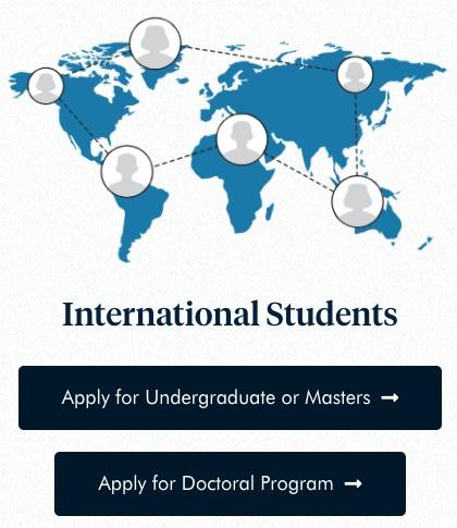 Choose your international degree